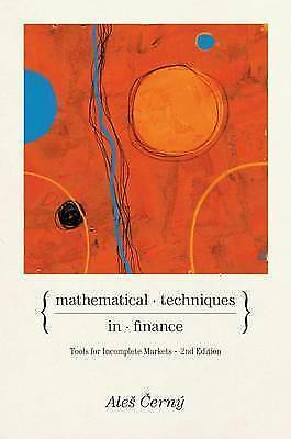 1 of 1 - Mathematical Techniques in Finance: Tools for Incomplete Markets by Ales Cerny (