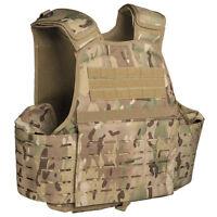 Mil-Tec Laser MOLLE Pouch Military Combat Army Plate Carrier Vest Multicam MTP