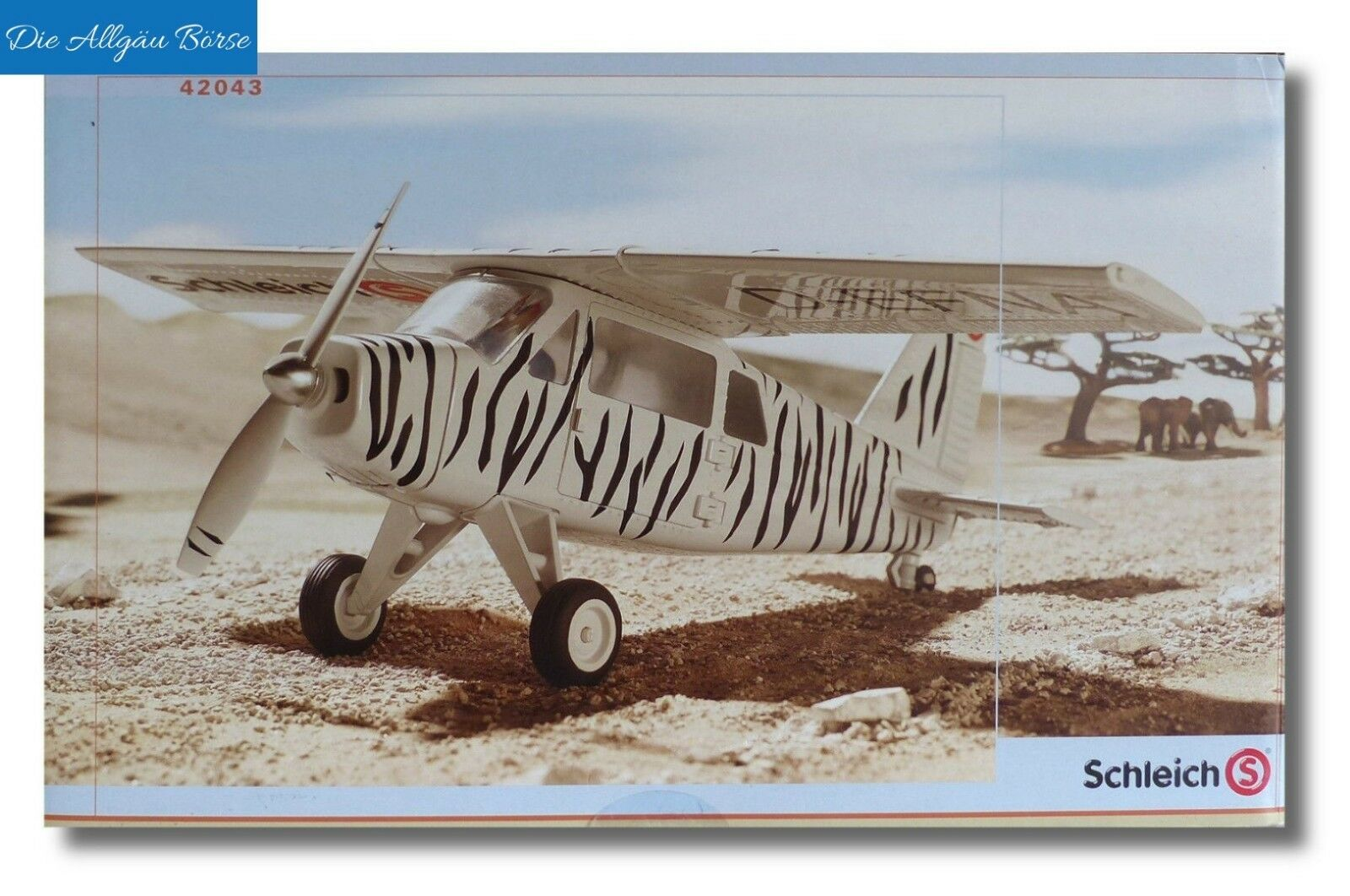 SCHLEICH 42043 Safari AEREO WILD LIFE Expedition Africa NUOVO OVP