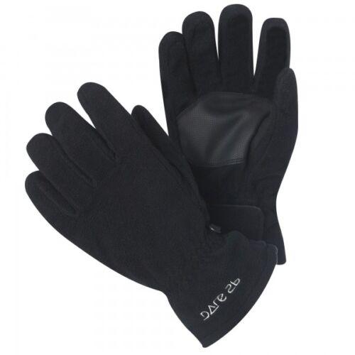 Dare2b Kids Textured Palm Warm Winter Fleece Gloves Black