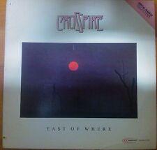 DISCO LP 33 GIRI CROSSFIRE - EAST OF WHERE - HEADFIRST 1981 - NM / VG+