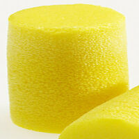 Classic Uncorded Earplugs, Hearing Aid Travel Airplanes Accessories Foam Yellow on sale