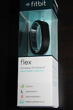 NEW Fitbit Flex Wireless Activity Wristband and Sleep Tracker Black Small+Large