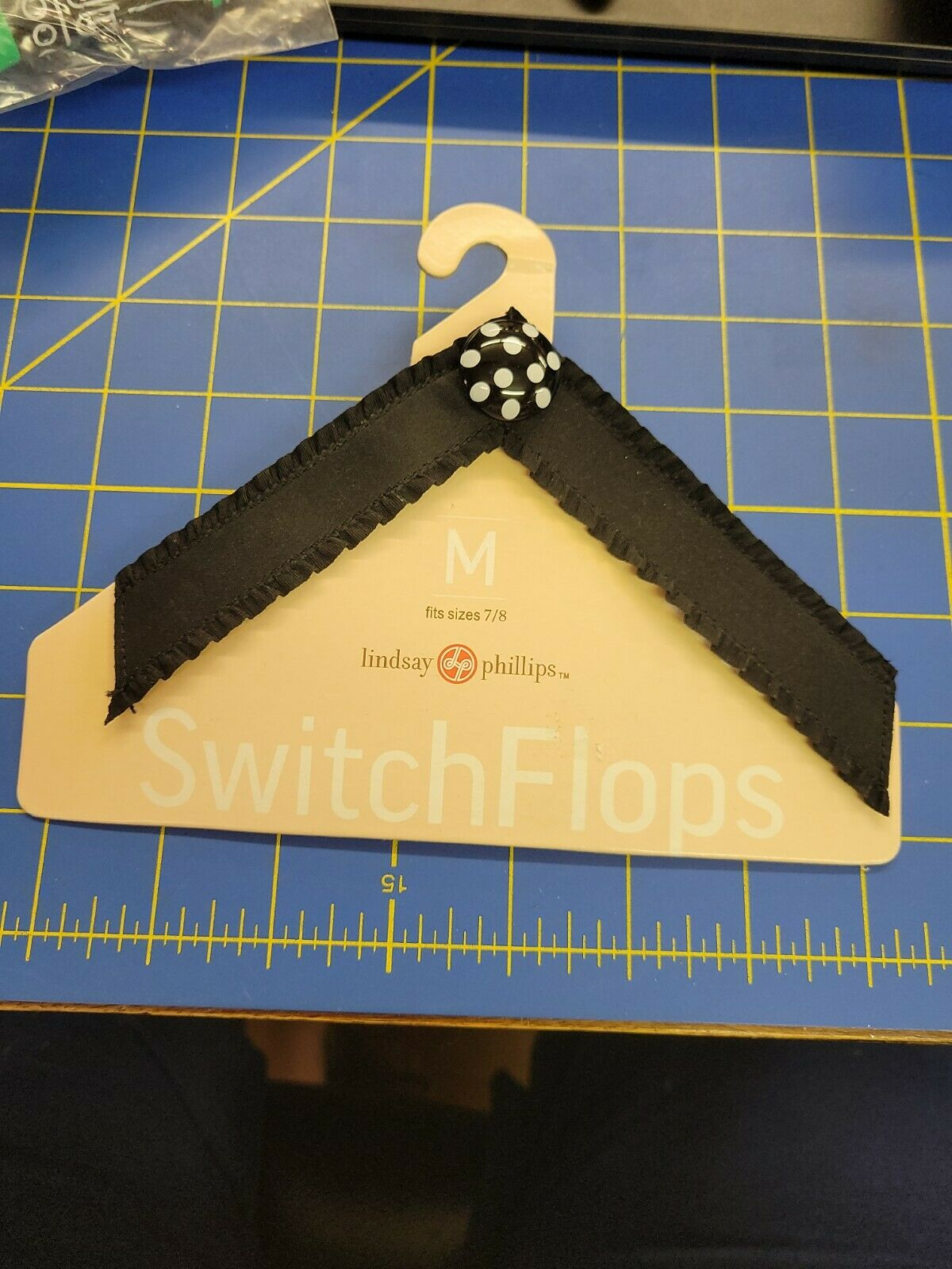 Lindsay Phillips -SwitchFlops - Interchangeable Straps Medium (7/8)