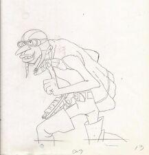 "Ralph Bakshi 1982 HEY GOOD LOOKIN' ""Crazy Shapiro"" Pencil Cel Art 12.5"" x 10.5"""