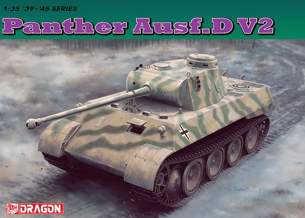 Dragon 1 35  6822 Armored Car V   Panther   Version D V2
