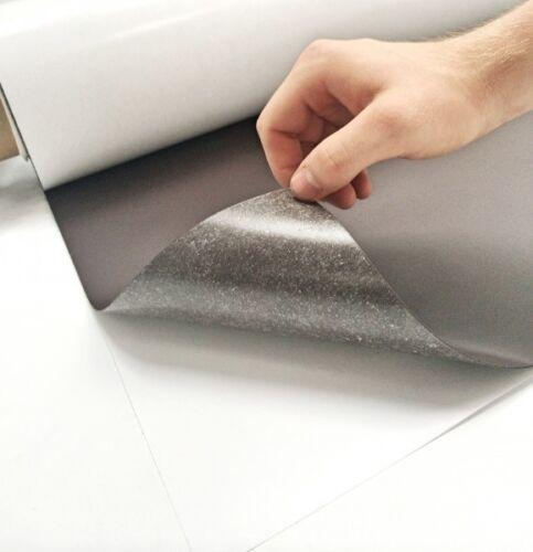 Magnetfolie Braun selbstklebend 500mm x Meterware x 0,9mm
