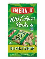 Emerald Dill Pickle Cashews Packages 7 Count 0.62 Ounce 0.62 Ounce, 7 Count