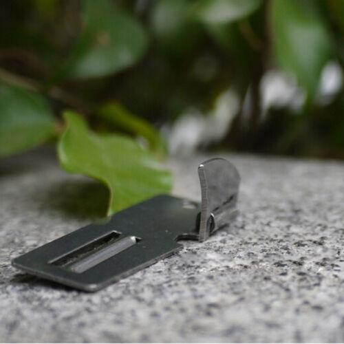 """2/"""" Double Peeler Stainless Steel 2 in 1 EDC Pocket Multi Tool  OpenerHIG$"""