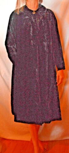 donna velluto Vintage Fun Swing Avenue nero da M S Denver Coat First Cates in vwAq0gA