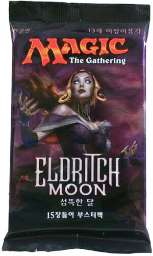 FACTORY SEALED BRAND NEW MAGIC MTG ABUGames Eldritch Moon Booster Pack KOREAN