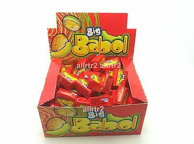 BIG BABOL REAL BIG BUBBLE CHEWING GUM Melon VALENTINE GIFT PERFECT taste 100 pcs