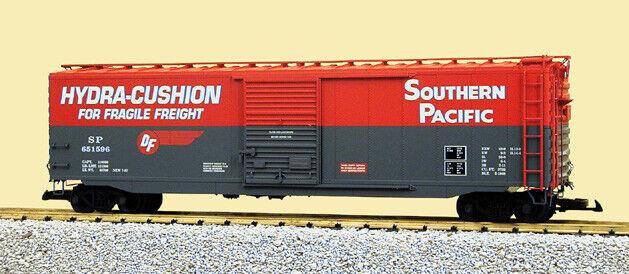 USA Trains G Scale  50 Ft Single Door Box voiture R19302A Southern Pacific - rouge  économiser sur le dédouanement