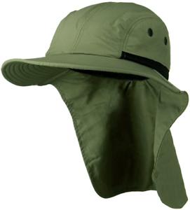 Sombrero para el sol Sombreros Condiciones extremas UPF 45+ Verde oliva