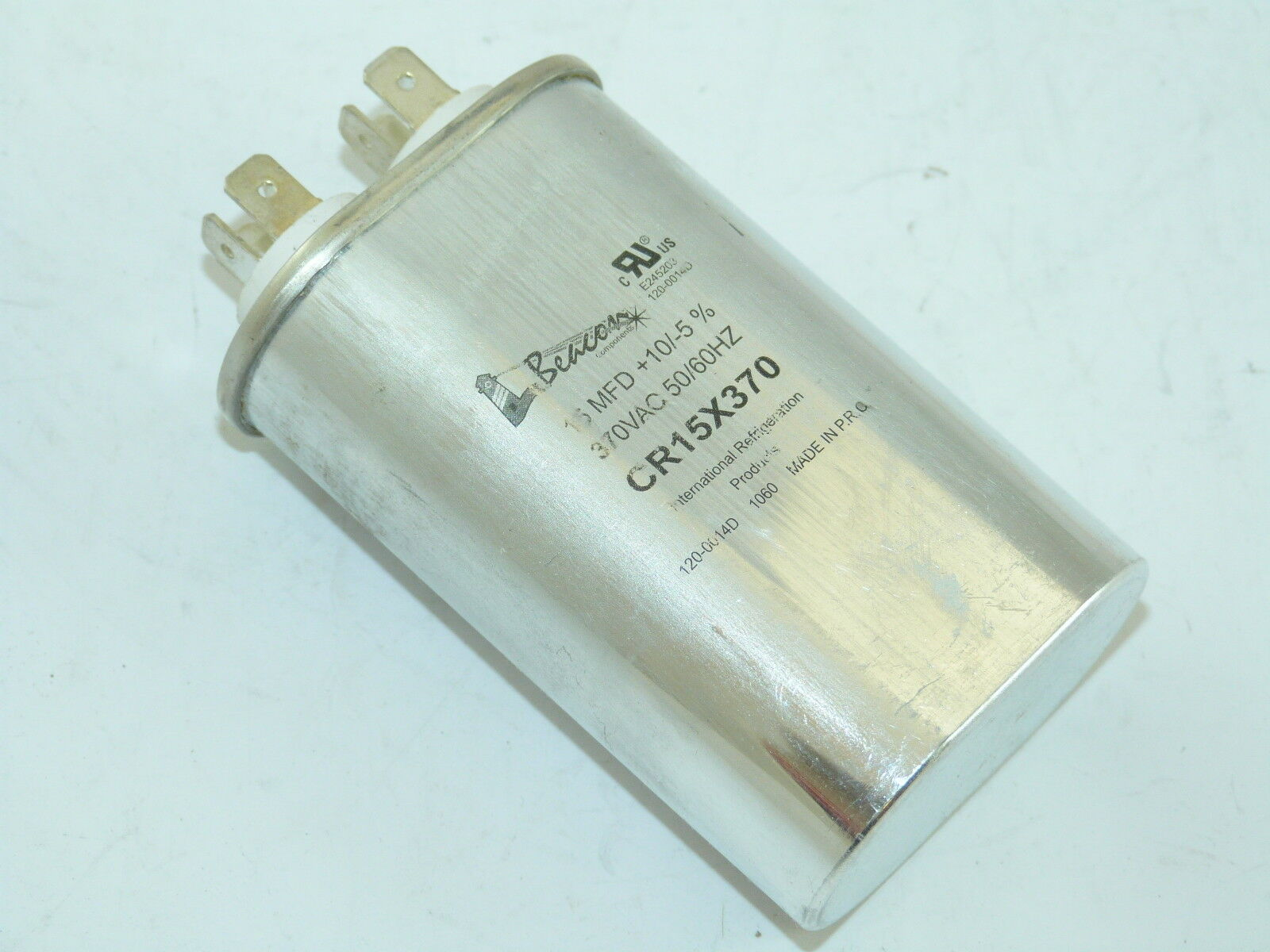 Packard TOCF15 15 MFD 440//370V OVAL Capacitor