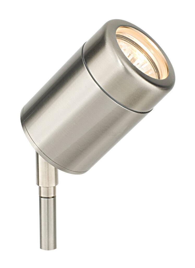 Saxby 14018 atlantis IP65 petit spike 35W IP65 atlantis réglable en acier inoxydable lampe d'extérieur 7c4819