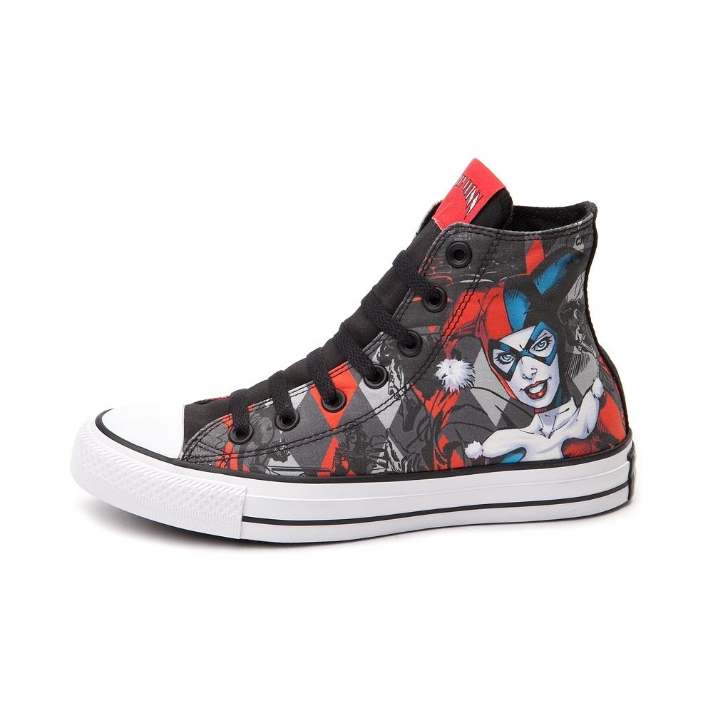 NEW PRINT Converse HARLEY QUINN All Star Chuck Taylor Diamond shoes Mens