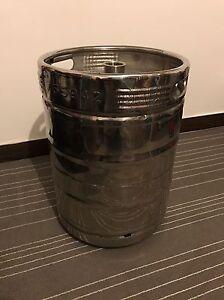 Chrome Beer Keg! Bar Design Garden Furniture DIY | eBay