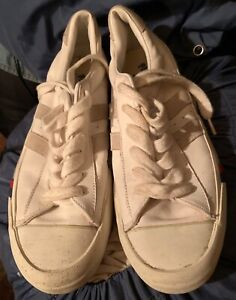 NOS White Pro Keds Leather Sneakers