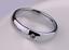 Anello-Anelli-Fede-Fedina-Uomo-Donna-Acciaio-Cristallo-Solitario-Coppia miniatura 3
