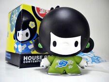 House of Liu Contemporary - GREEN BABY DI DI boy -Toy Figure Vinyl, Ninja
