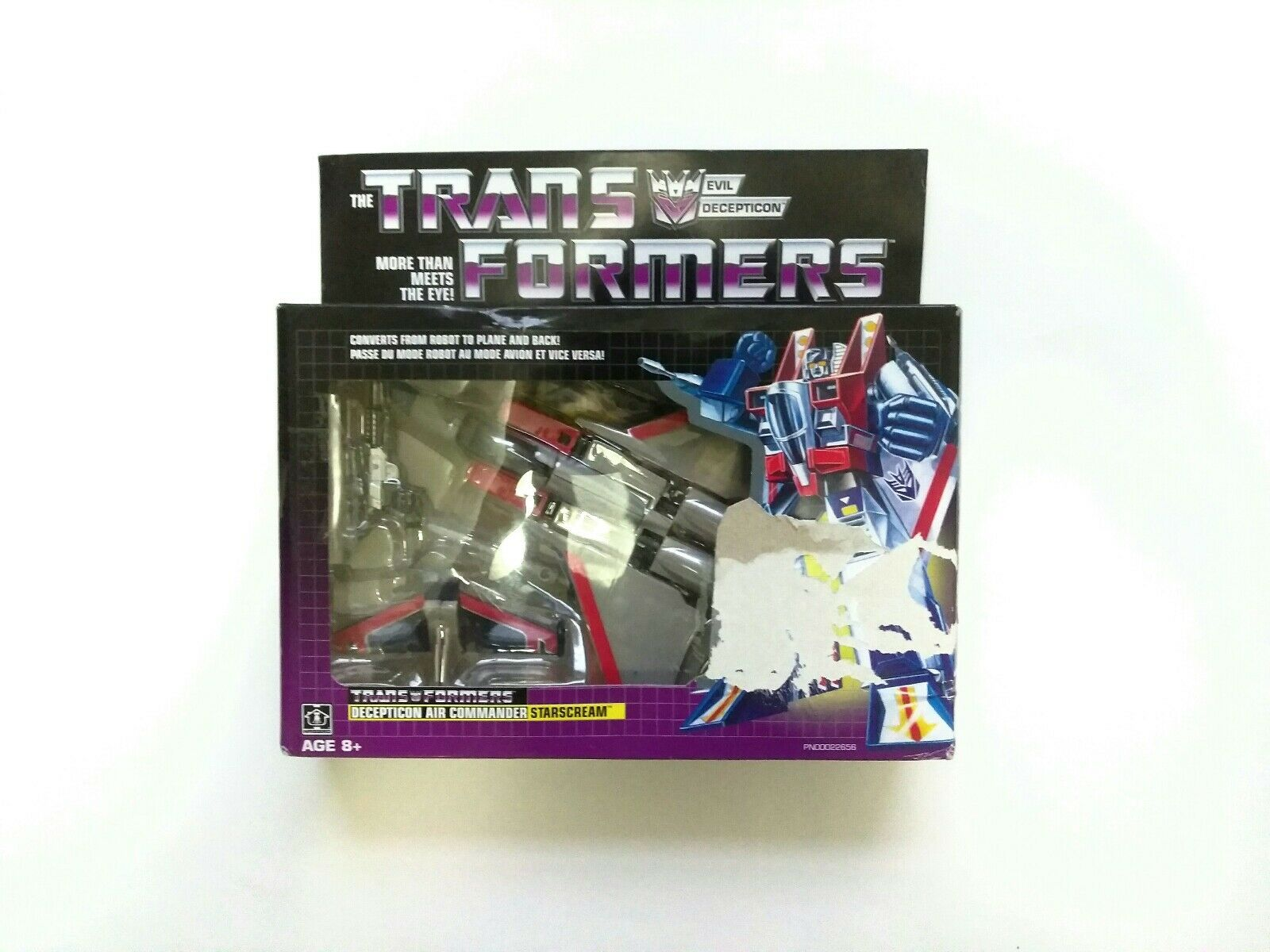 Transformers G1 STARSCREAM Air Commander Vintage 2018 Reissue Walmart Exclusive