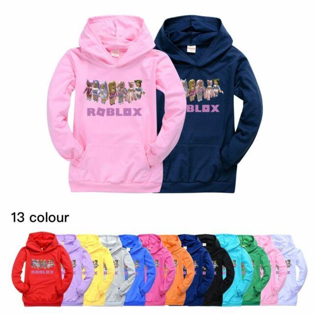 Kids Boys Girls Winter Warm Hoodie Zip Up Coats Sweater Jacket Overcoat Tops