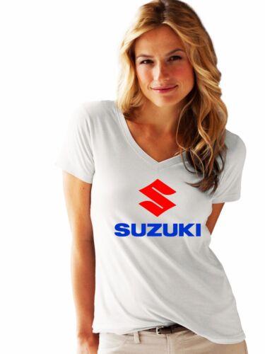 Suzuki woman lady LOGO NEW T-SHIRT FRUIT OF THE LOOM print by EPSON