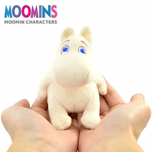 Moomin palm size plush toy Total length 10.5 x 9 x 8.5 cm F//S w//Tracking# Japan