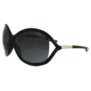 Tom-Ford-Gafas-de-Sol-0009-Withney-01D-Negro-Brillante-Gris-Ahumado-Polarizados