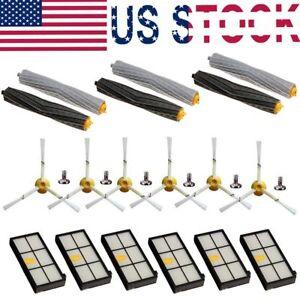 8x Filter Brush Kit For IRobot Roomba 800 /& 900 Series  966 980 Vacuum Cleaner