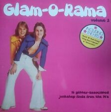 Glam-O-Rama Volume 2 comp LP Kiss Kiss Blackfoot Sue Heavy Metal Kids Equals