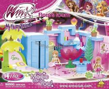 Cobi blocks WINX Club 25180 Flora's room 180 building bricks Toy  dolls