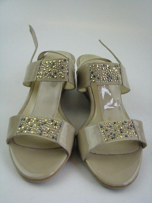 Scolaro Damen Sandale ein nude mit Glitzer Gr. 40