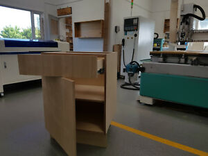 Standard Bespoke Birch Plywood Kitchen Cabinet Base Unit ...