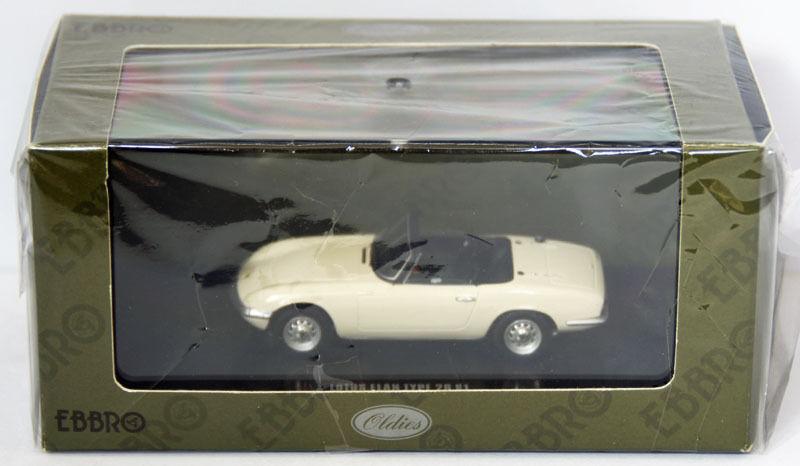 Ebbro 44162 Lotus Elan Type 26 S1 (blancoo)  scale