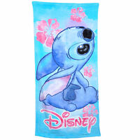 Disney Stitch Girls Bath & Beach Towel 58x28