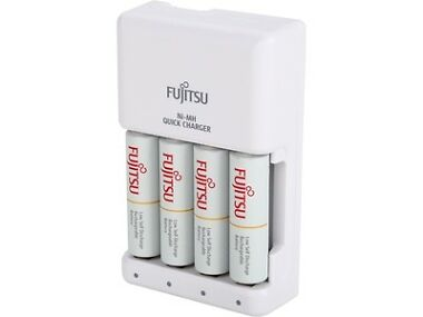4-Pack Fujitsu AA / AAA Rechargeable Battery