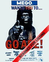 PLANET OF THE APES - MEGO GO APE! poster 8x10 photo #7651