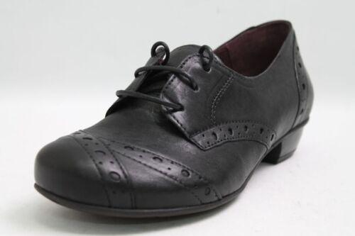Brako Schuhe Leder schwarz Lyralochung Wechselfußbett