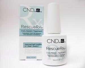 CND Creative Nail Treatment RescueRX Rescue RX.5oz/14mL -repairs ...