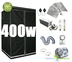 Image is loading 400w-Grow-Light-Kits-Indoor-Ventilation-System-Grow-  sc 1 st  eBay & 400w Grow Light Kits Indoor Ventilation System Grow Tent ...