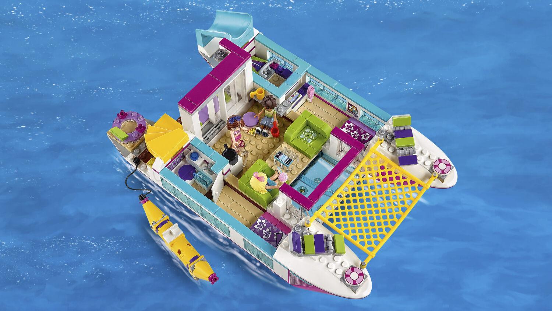 41317 Lego Alquilamos Friends 41316 Catamarán Heartlake Lancha 41315 Ovn0P8yNmw