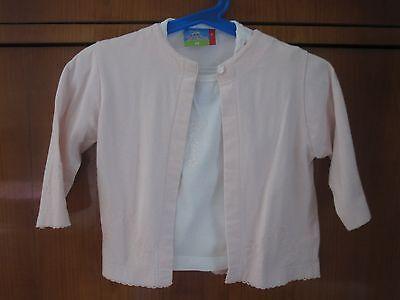 2-teiler - Cardigan Mit T-shirt Gr. 68 GüNstigster Preis Von Unserer Website