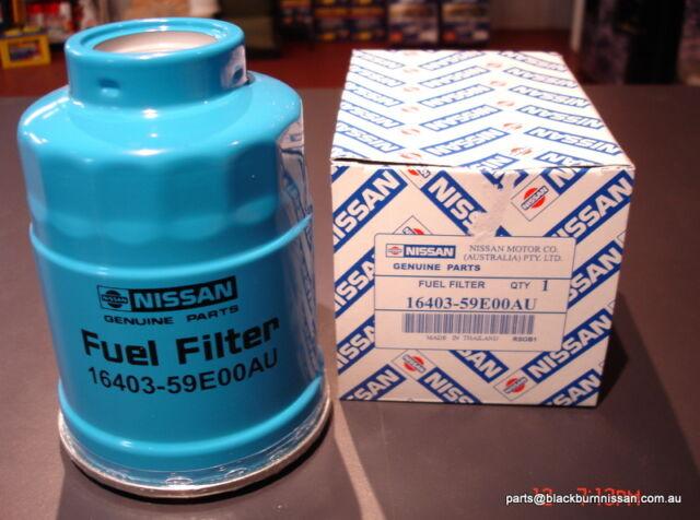 Nissan Fuel Filter Patrol GU GQ Navara D22 D21**GENUINE** 16403-59E0A
