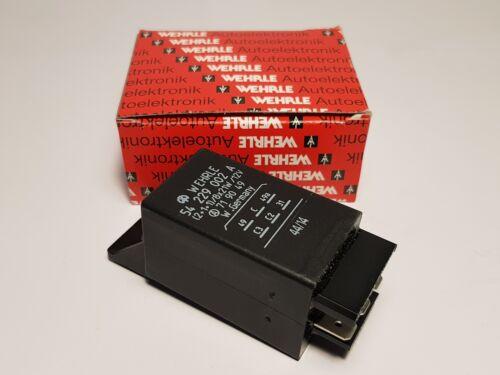 Wehrle 54229002A Blinkgeber 12V 2+1+1 //8x21W 719049 Blinkerrelais Flasher Relay