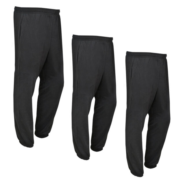 Fox Carp Fishing Clothing Black and Orange Heavy Lined Joggers// Jogging bottom