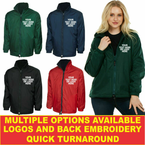 Personalised Embroidered Premium Reversible Fleece Jacket UC605