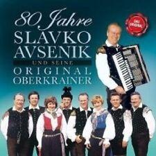 "SLAVKO AVSENIK ""80 JAHRE"" 2 CD VOLKSMUSIK NEU"