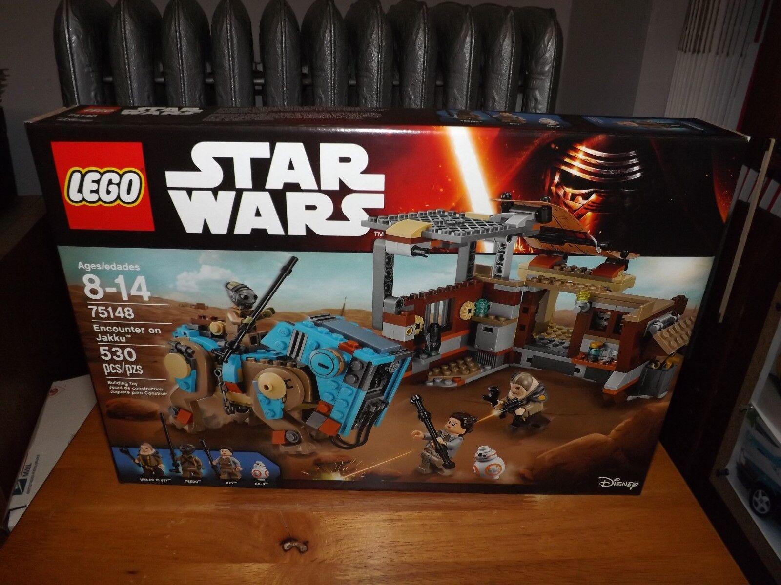LEGO, STAR WARS, ENCOUNTER ON JAKKU, KIT  75148, 530 PIECES, NEW IN BOX, 2016